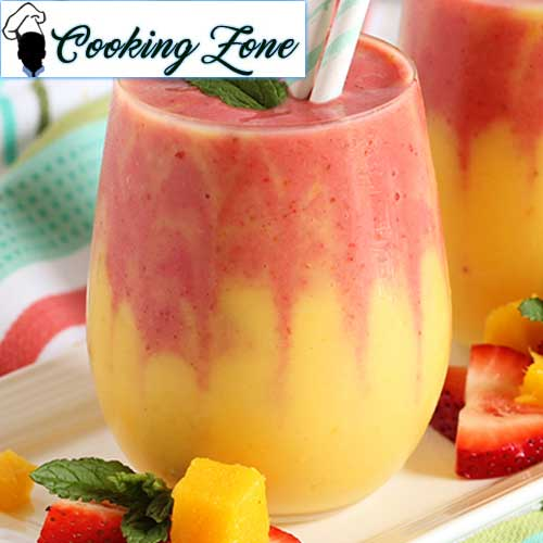 Best Strawberry Mango Smoothie with Ginger