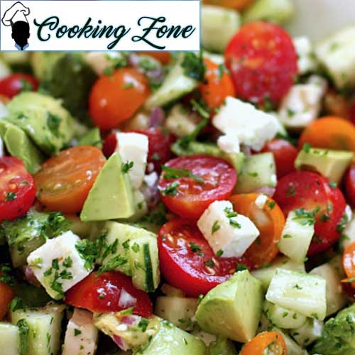 Best Tomato Cucumber Avocado Salad