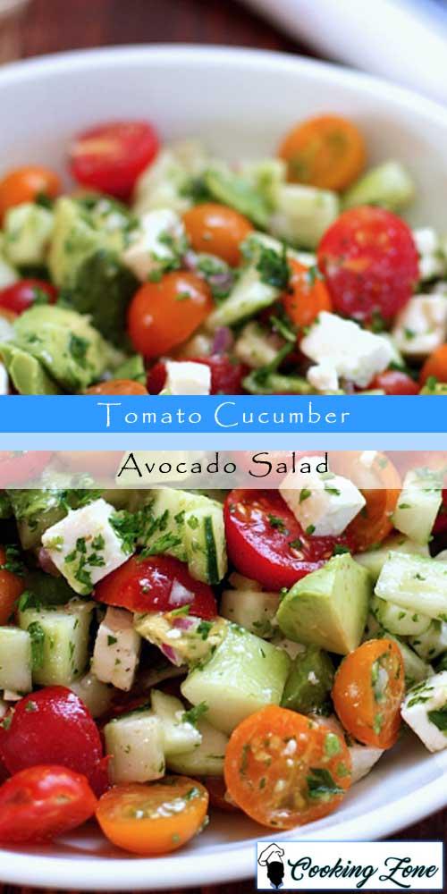 Best Tomato Cucumber Avocado Salad