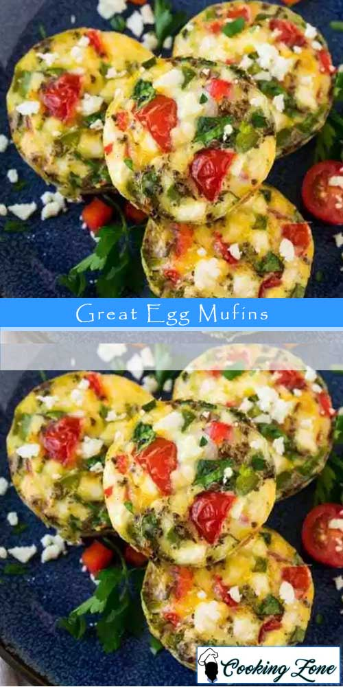 Healthy Great Egg Muffins For Breakfast