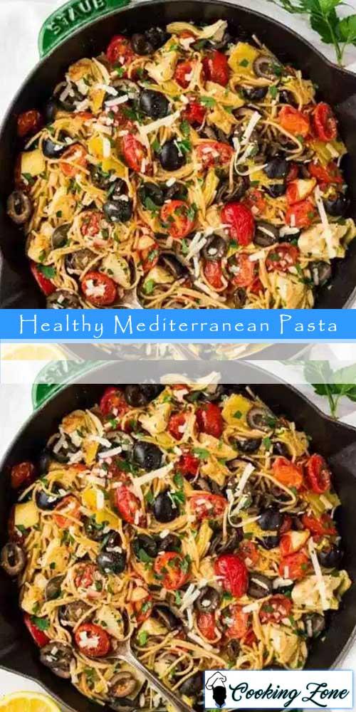 HealthyMediterranean Pasta