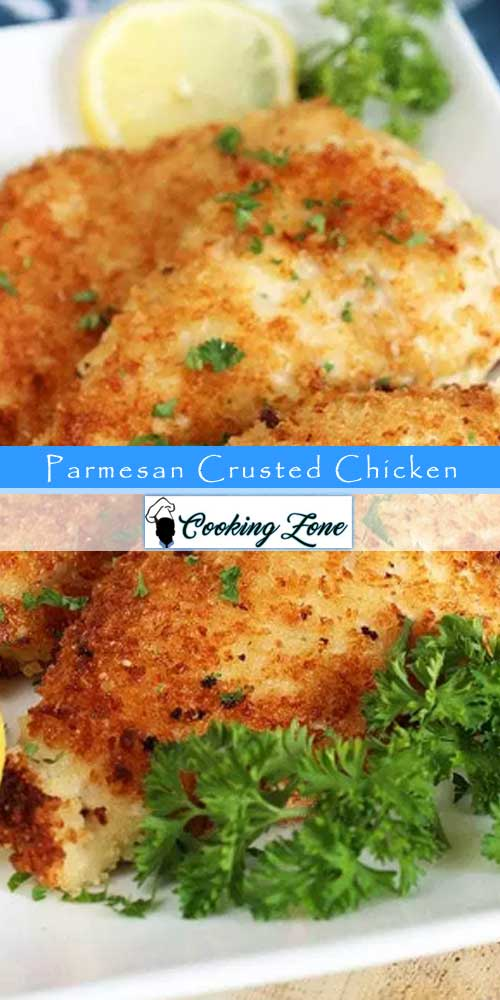 Best Parmesan Crusted Chicken Recipe