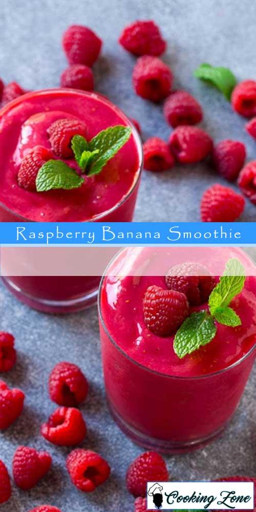 Raspberry Banana Smoothie