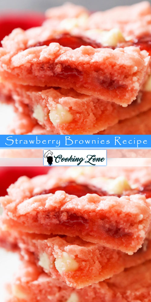 Strawberry Brownies Recipe