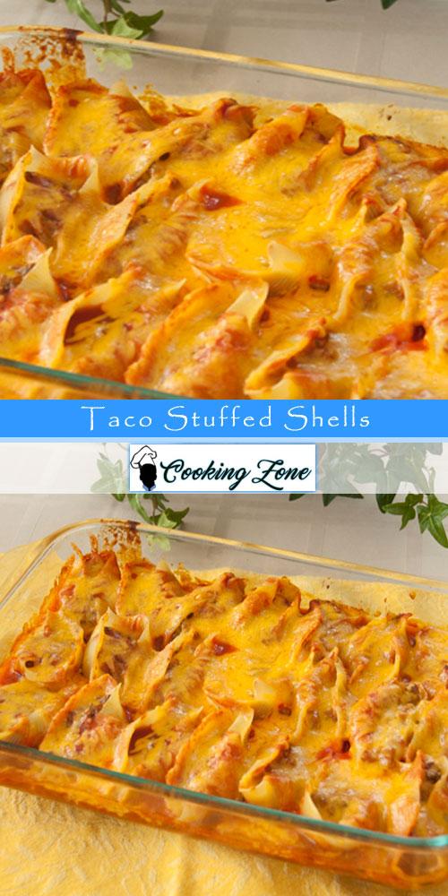Taco Stuffed Shells RecipeTaco Stuffed Shells Recipe
