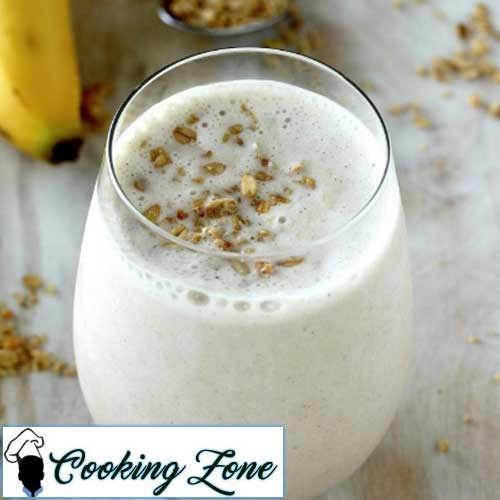 The Best Banana Honey Smoothie EVER