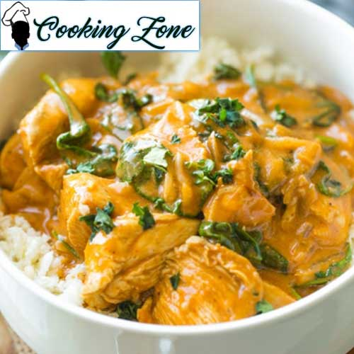 Tomato Coconut Curry Chicken
