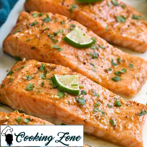 Baked Salmon with Brown Sugar and Lime