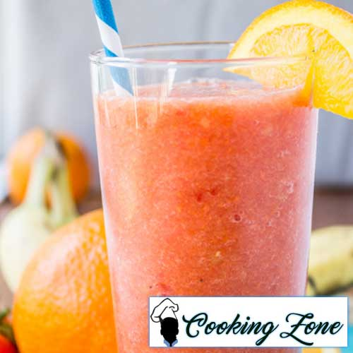 Orange Watermelon Sunshine Smoothie