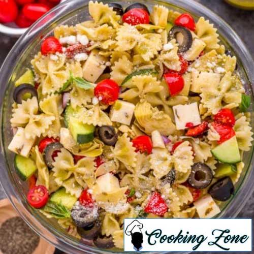 Italian Veggie Pasta Salad