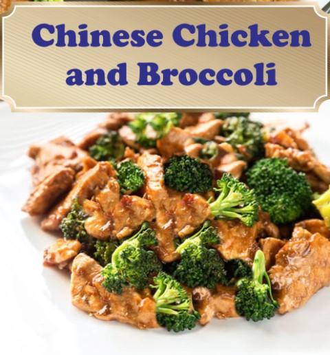 Chinese chicken broccoli 1