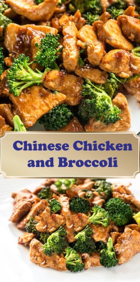 Chinese chicken broccoli