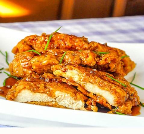 Double Crunch Honey Garlic Chicken 1