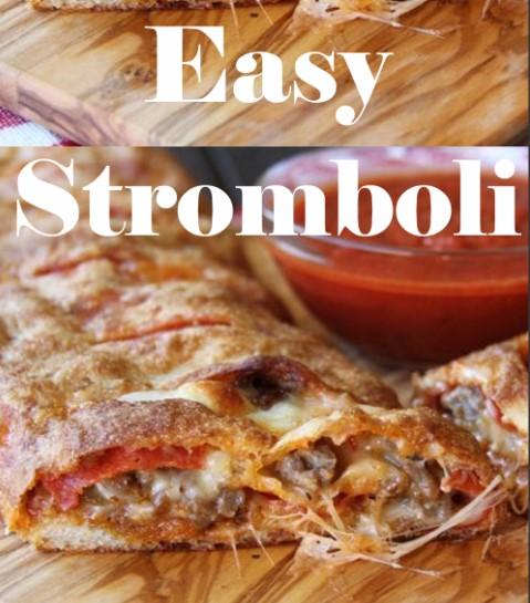 Easy Stromboli 1