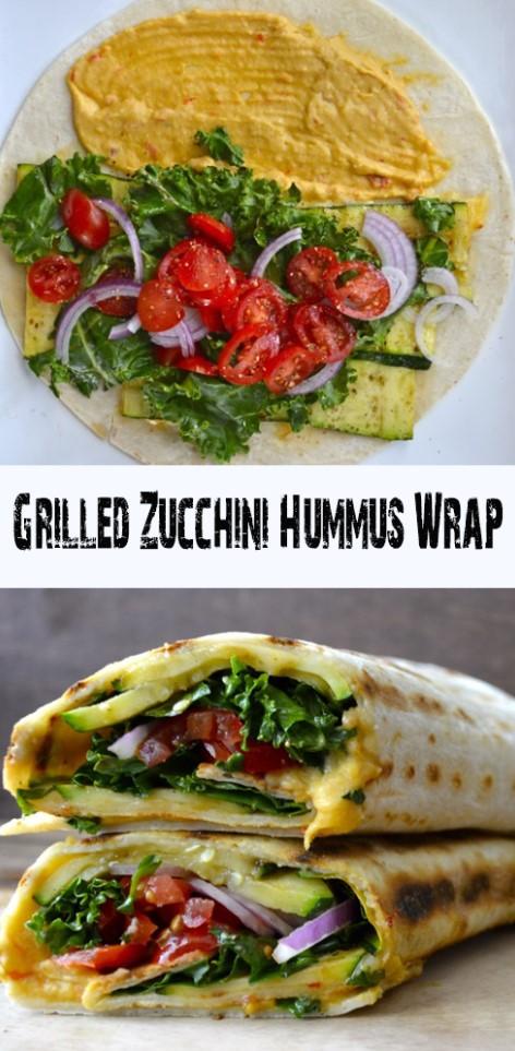 Grilled Zucchini Hummus 1