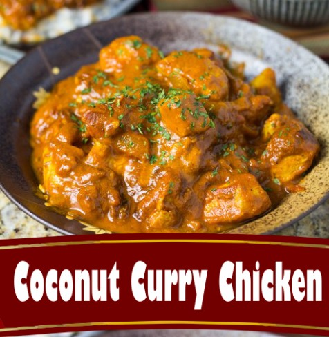 coconut curry chicken 1
