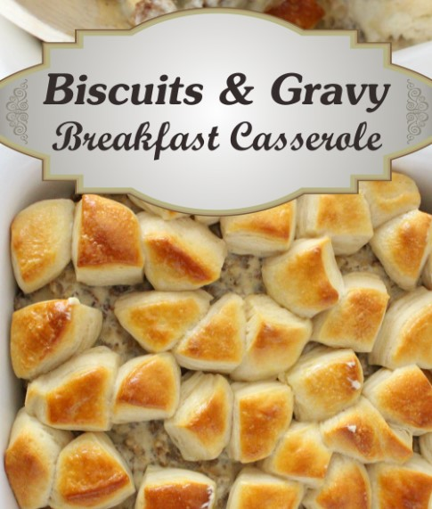 easy biscuits and gravy 1
