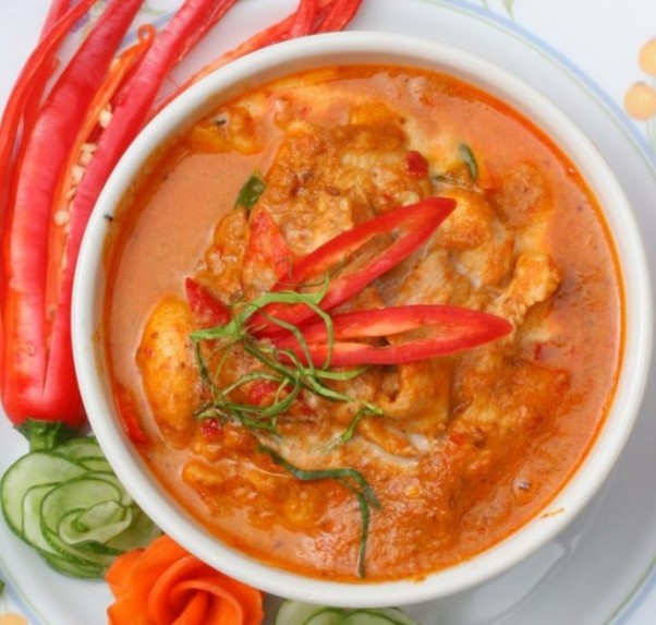 Chicken Panang Curry Recipe 1