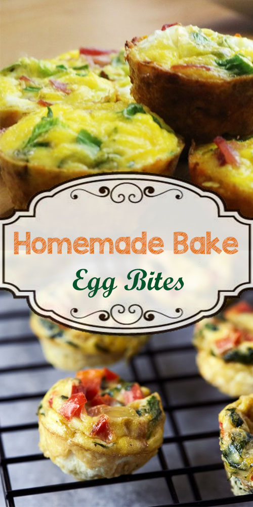 Homemade Bake Egg Bites