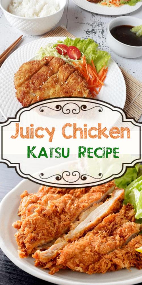 Juicy Chicken Katsu Recipe