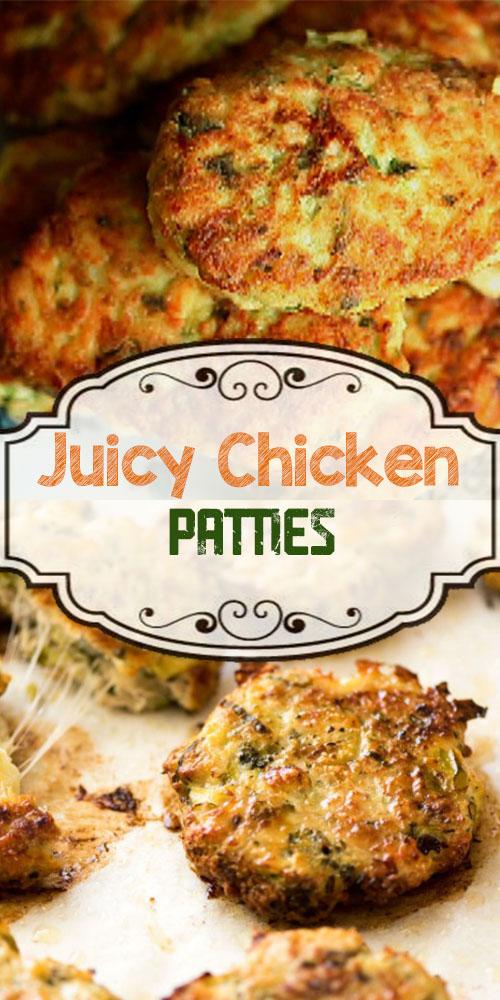Juicy Chicken Patties