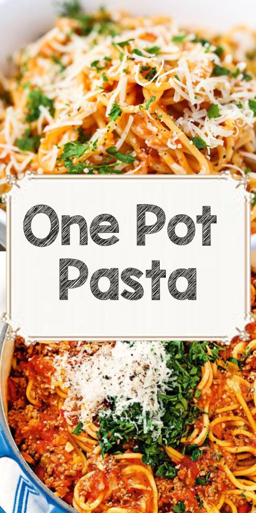 One Pot Pasta Recipes 1