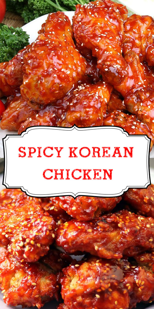 Spicy Korean Chicken 1