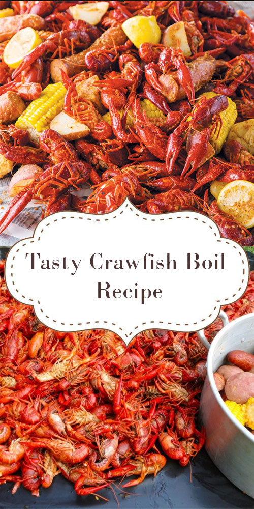 Tasty Crawfish Boil Recipe