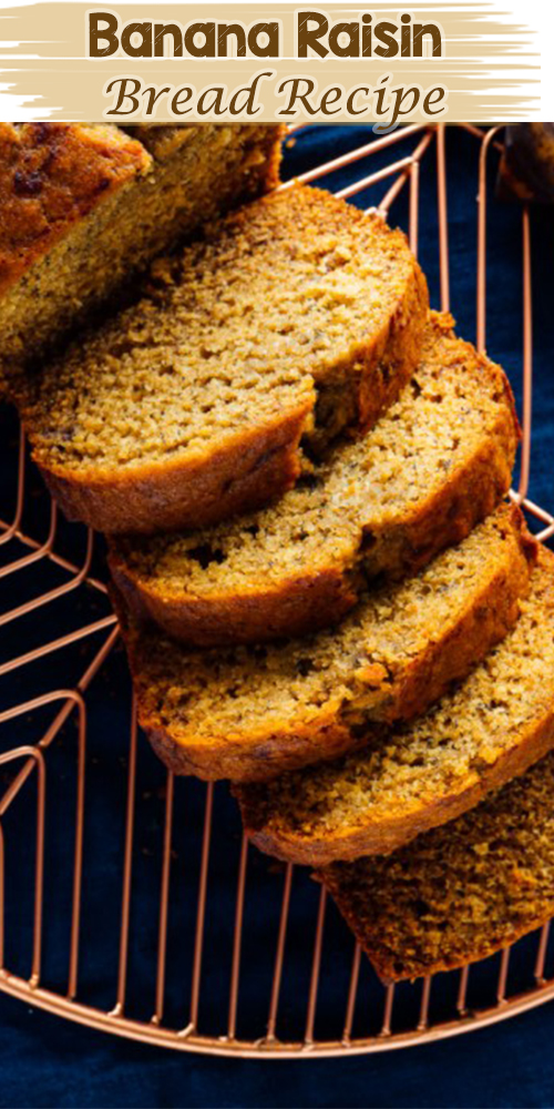 Banana Raisin Bread Recipe 1