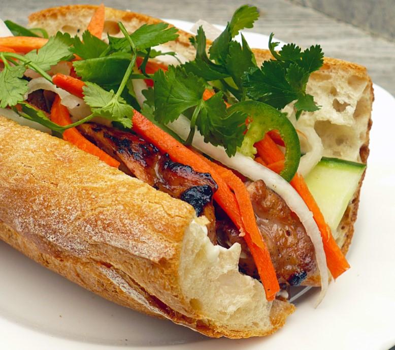 Banh Mi A Vietnamese Sandwich 1