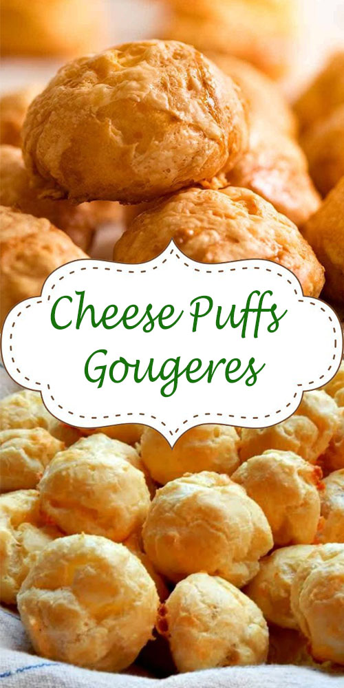 Cheese Puffs (Gougeres)