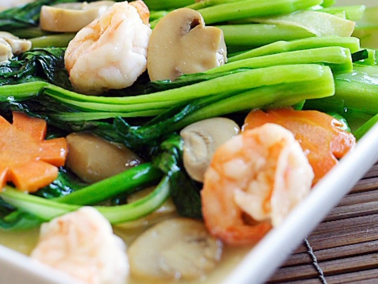 Chinese Vegetables Choy Sum