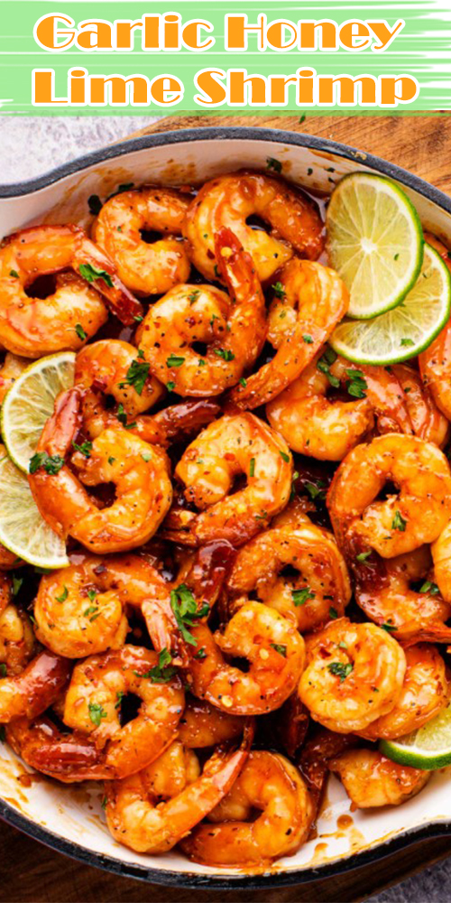 Garlic Honey Lime Shrimp
