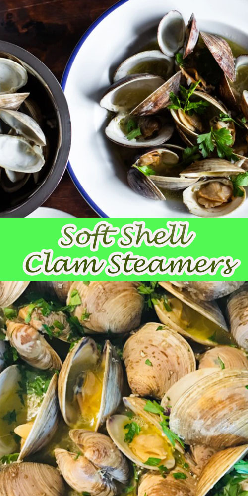 Soft Shell Clam Steamers