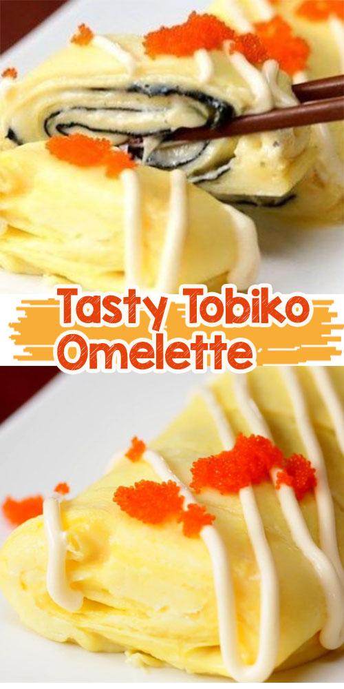 Tasty Tobiko Omelette
