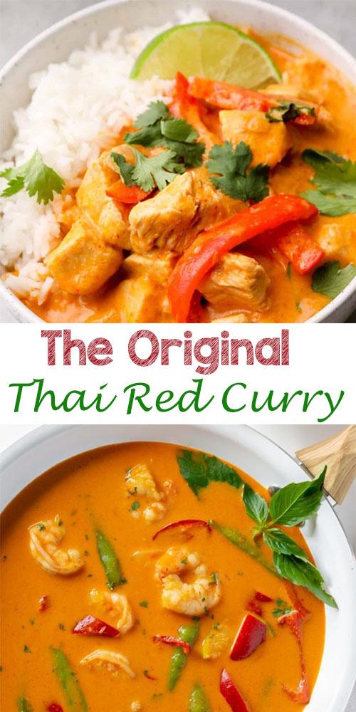 The Original Thai Red Curry 1