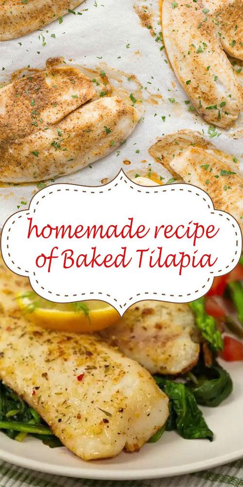 homemade recipe of Baked Tilapia
