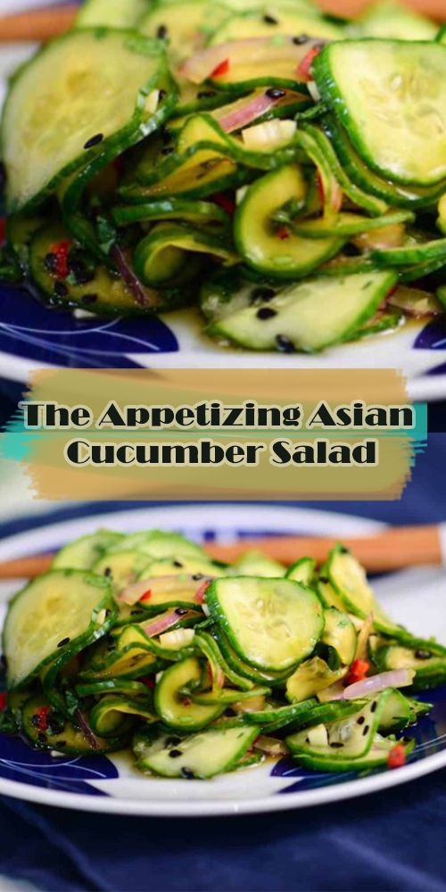 The Appetizing Asian Cucumber Salad
