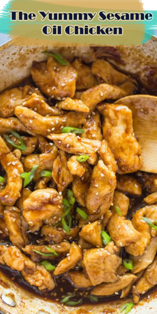 The Yummy Sesame Oil Chicken